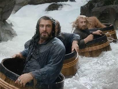Hobbit Scene Barrel