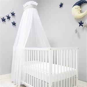 Kinderbett Für Baby : baby joy betthimmel f r babybett kinderbett zick zack ~ Watch28wear.com Haus und Dekorationen
