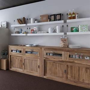 Meuble Bois Brut : meuble cuisine bois brut cuisine id es de d coration de maison lbla3oobm7 ~ Teatrodelosmanantiales.com Idées de Décoration