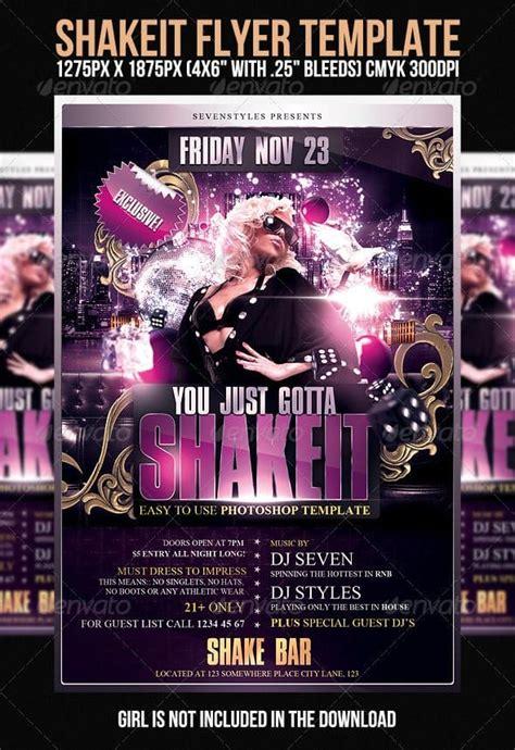 premium psd nightclub flyer templates