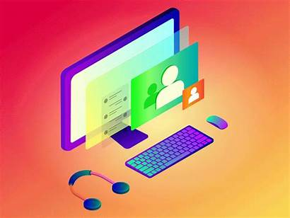 Computer Chat Dribbble Isometric Shutterstock Jana Users