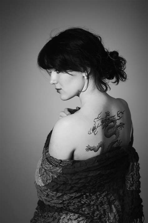 Photograph Girl with the Dragon Tattoo by Alexey Kozeruk