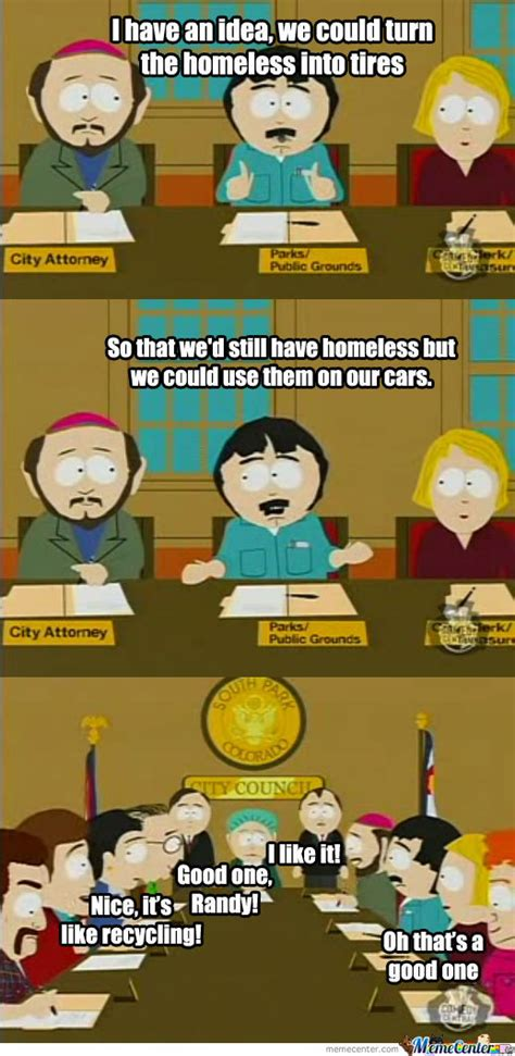 South Park Funny Memes - south park the most brainless town by collinboy meme center