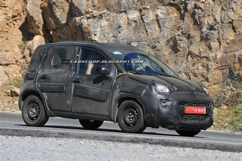 Spied All New 2018 Fiat Panda Caught Stretching Out In