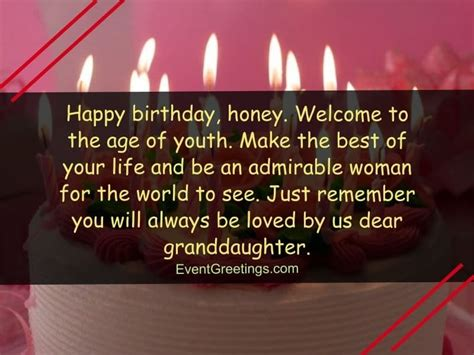 Granddaughter, i hope that your birthday is every bit as darling as you are. 55 Lovely Birthday Wishes for Granddaughter