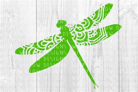 Dragon svg, dragon svg files, dragon mandala, zentangle. Dragonfly Mandala Name Frame SVG, Drago   Design Bundles