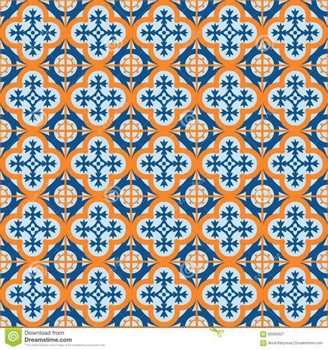 Marokkanische Fliesen Vektor Abbildung  Bild 60393927
