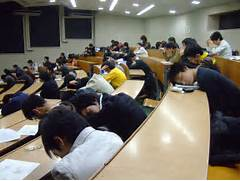 students sleep in class  Sleeping Student In Class