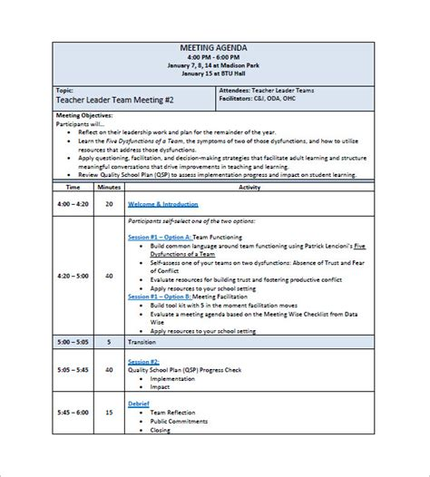 meeting notes template 15 staff meeting minutes templates pdf doc free premium templates