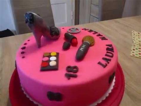 fondant torte 18 geburtstag tussi torte zum 18 geburtstag pink fondant