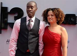 Actor Don Cheadle and wife Bridgid Coulter arrive for the ...