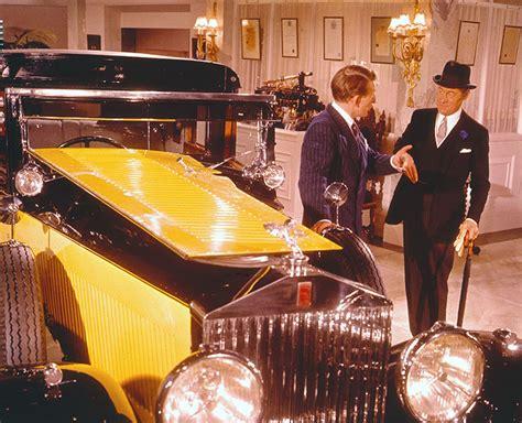 yellow rolls royce movie rolls royce on the silver screen
