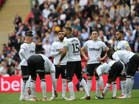 Derby County beaten by Aston Villa in Championship play ...