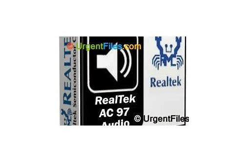 free download drivers realtek ac'97 audio