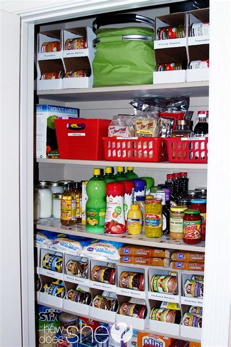 Can I Buy A Kitchen Pantry by Organized Pantry Canned Food Problem Solved