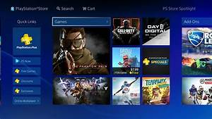 PS Store Receives Full Makeover On PS4 Receives Positive