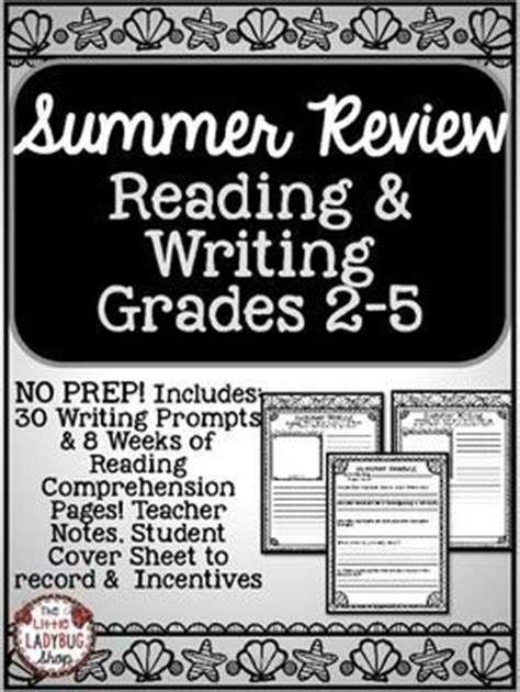 Summer Packet Reading & Writing Summer Review 3rd Grade