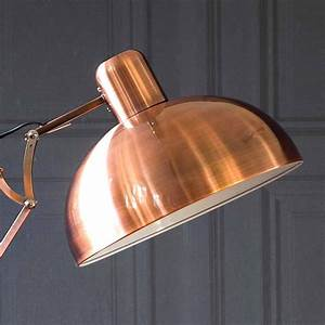 copper angled floor lamp furnishcouk With copper angled floor lamp uk