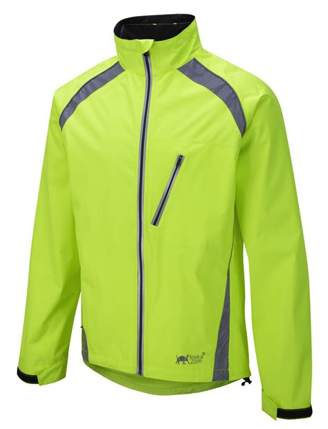 cycling waterproofs new oska hi vis yellow waterproof cycling jacket foska com