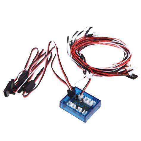 goolrc no solder realistic kit d 233 clairage de 12 led new highlight pour partie plus