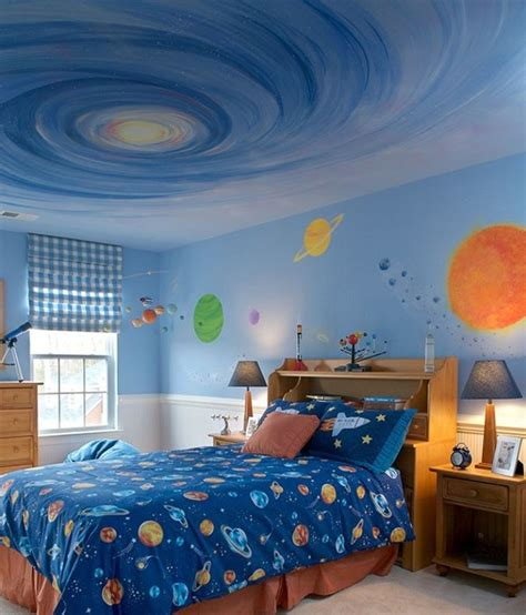 Outer Space Bedroom Decor by Space Theme Bedroom On Outer Space Bedroom