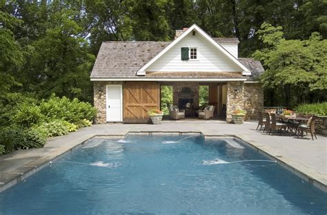 house plans with swimming pools pool house