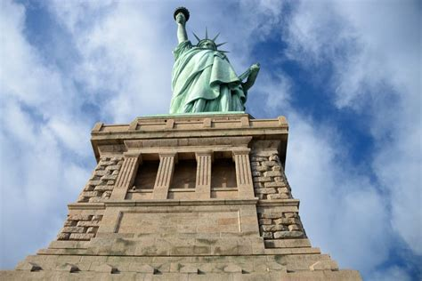 statue of liberty pedestal statue of liberty new york u s a must see places