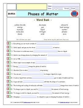 phases  matter ipad worksheet ans   quizzes