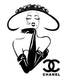 Black And White Artwork For Bathroom by Best 25 Fashion Illustration Chanel Ideas On Pinterest
