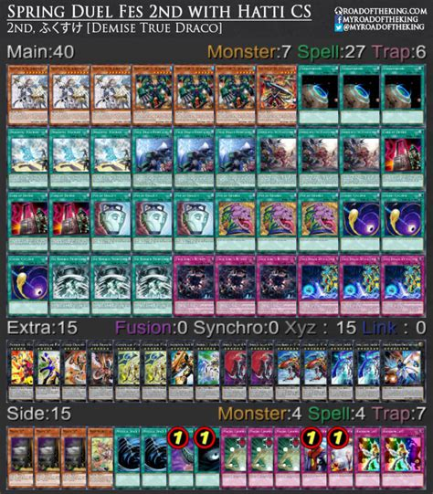 Skill Drain Deck 2017 by Ocg 2017 04 Metagame Report 8 9 Road Of The King