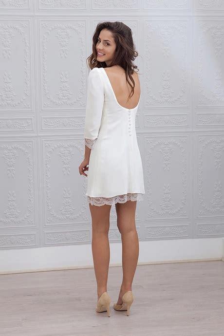 robe courte mariage civil createur robe de mari 233 e courte pour mariage civil