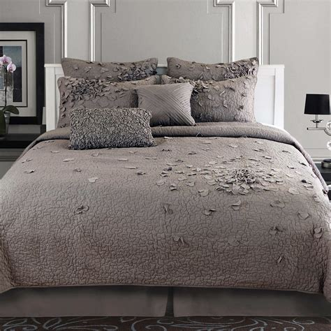 gray quilt bedding bedroom astonishing grey comforter for comfortable