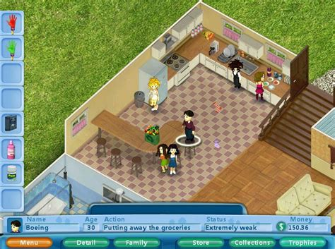 Can Casual Game Virtual Families Take A Chunk Out Of The