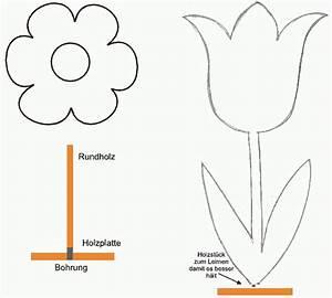 Blätter Vorlagen Zum Ausschneiden : wooden flowers for spring decoration garden ideas diy ~ Lizthompson.info Haus und Dekorationen
