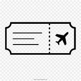 Ticket Tickets Coloring Airline Transparent Clipart Template Pngguru sketch template