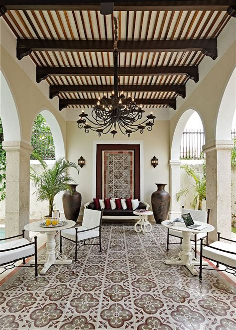 design ideas  outdoor living spaces spanish style homes house design house styles
