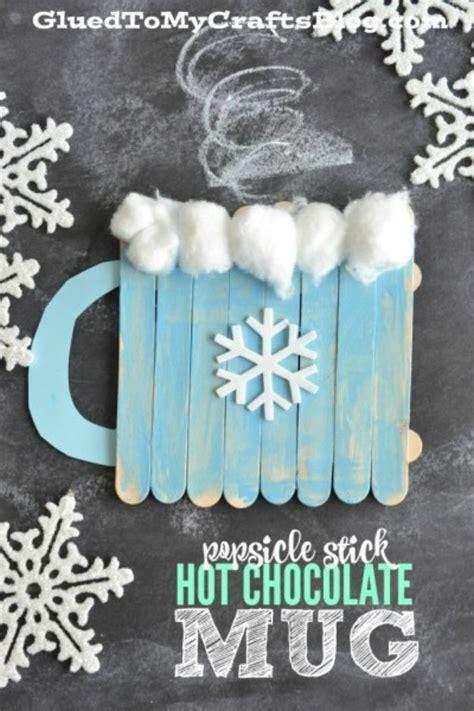 35 winter crafts for 871 | Popsicle Stick Hot Chocolate Mug %E2%80%93 Kid Craft