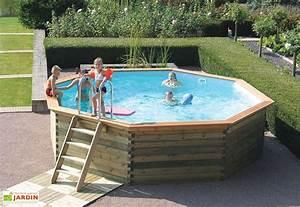 piscine hors sol piscine en bois mon amenagement jardin With terrasse en bois pour piscine hors sol 4 piscine hors sol piscine en bois mon amenagement jardin
