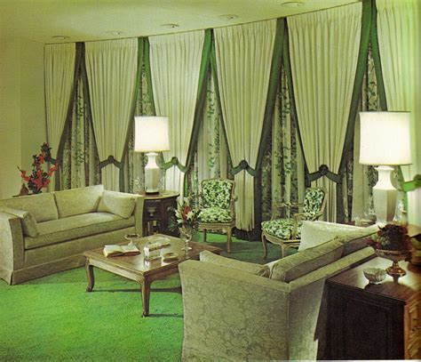 interior decoration in home groovy interiors 1965 and 1974 home décor