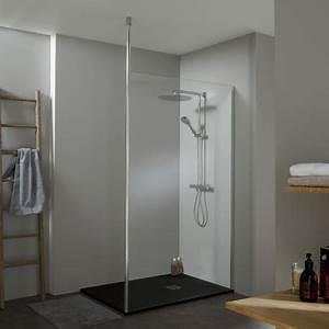 Paroi Douche Verre Sablé : paroi pour douche parois douche avec effet miroir ~ Premium-room.com Idées de Décoration
