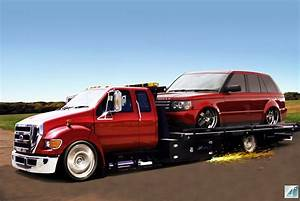 Ford F650 And Range Rover By Carsrus On Deviantart