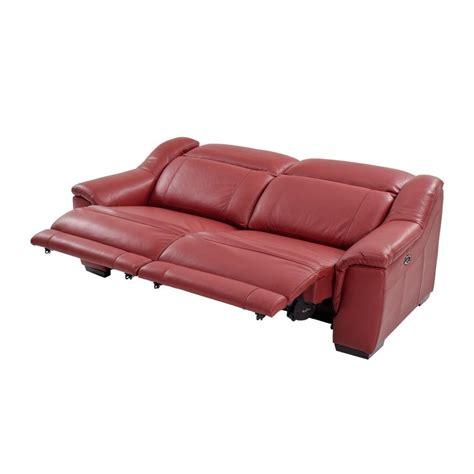 el dorado furniture leather sofas davis red power motion leather sofa el dorado furniture