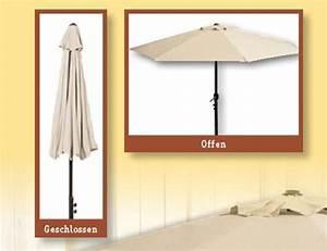 Sonnenschirme Für Den Balkon : sonnenschirm halbrund zur wandmontage beige in landau ~ Michelbontemps.com Haus und Dekorationen