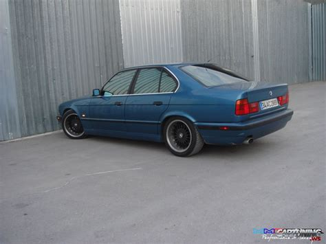 bmw e34 tuning tuning bmw 5 e34 187 cartuning best car tuning photos