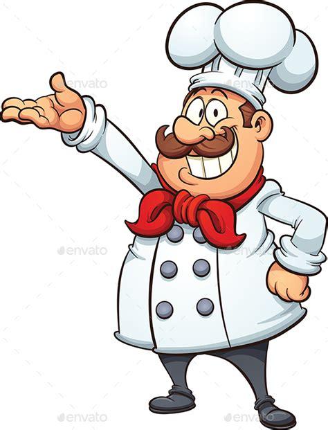 cuisiner un poulet roti chef by memoangeles graphicriver