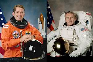 NASA Astronauts David Leestma and Andrew Thomas Retire | NASA