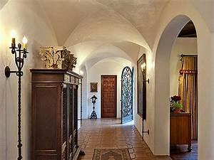 Spanish Colonial Revival home hall Interior Design