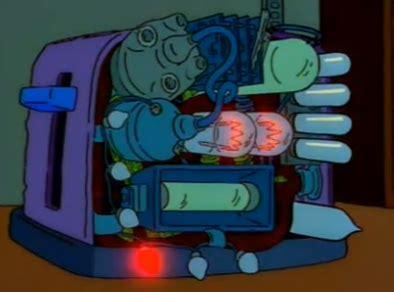 Simpsons Toaster - horizonte9 diciembre 2012
