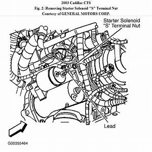 How To Change A Starter On 2003 Cadillac Cts  Difficulty