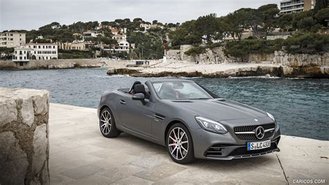 Mercedes Slc Class Wallpapers by 2017 Mercedes Amg Slc 43 Front Hd Wallpaper 24